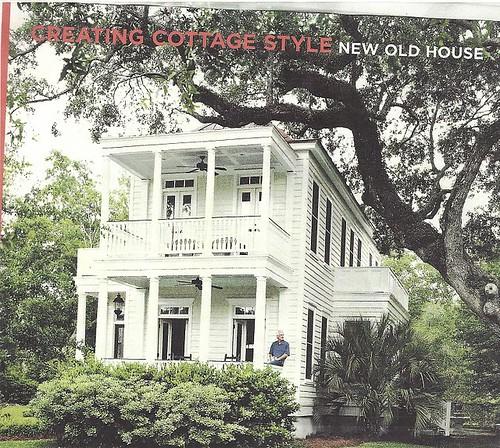 cottage living narrow house Charleston
