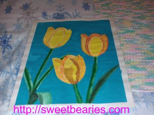 Daffodils In The San Bernardino Mountains