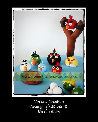 Norie's Kitchen - Angry Birds 3 - Bird Team