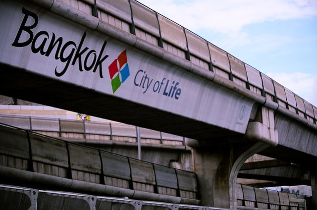 Bangkok, City of Life 這行標語很醒目