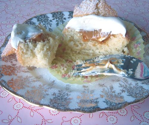 Inside butterfly cake