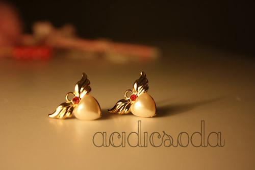 Wing Heart Earring3