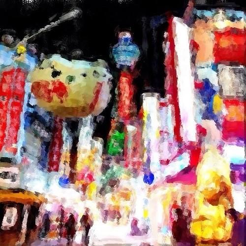いつかの通天閣 … by Corel Paint it! Now これ、面白いね!