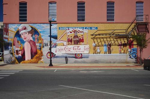 Mural in Downtown Lufkin