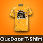 Outdoor T-Shirt Template Ideas