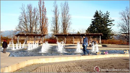 Fountains at Queen E Park