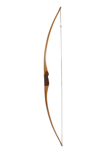 "Byron Ferguson,""Lucky Thang"" longbow, D, by Peter O. Stecher, 2011"