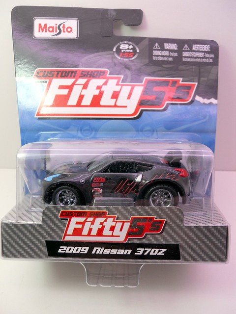 maisto custom shop fifty 5's 2009 nissan 370z destroyr (1)