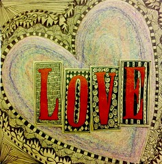 Art Journal Every Day: Love and Crayons