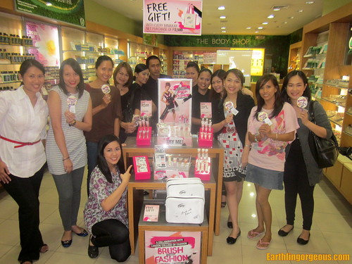 Brush With Fashion event at TBS