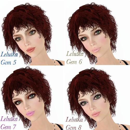 Lelutka Gem DB Makeup 5-8