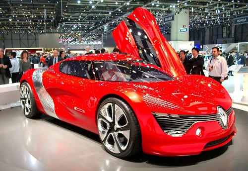 Renault Dezir elettrica