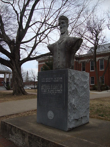 Andrew Jackson Statue, Scottsboro AL