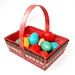 Red Easter Basket