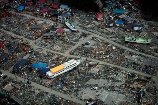 Tsunami aftermath