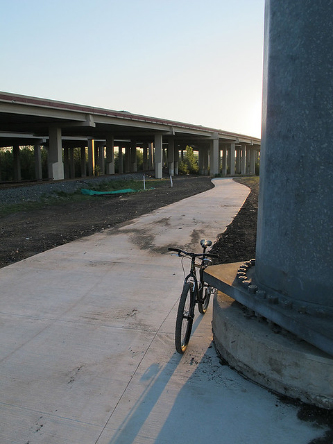 Trail Leaving PGB Tollway