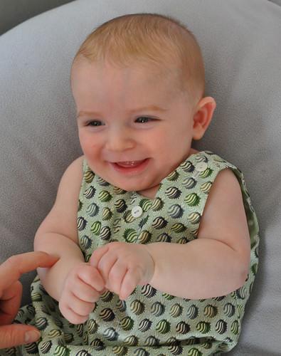 bébé barboteuse