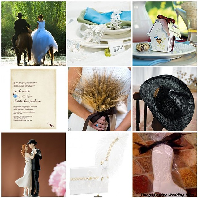 Western Wedding Theme Two Ways  Things Festive Weddings