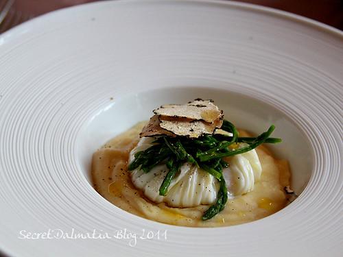 Asparagus, potato,truffles, eggs...