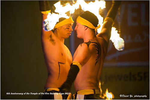 6th Anniversary of the Temple of Poi Fire Dancing Expo 2011 by davidyuweb