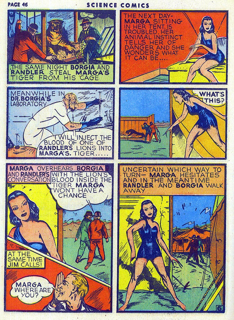 Science Comics 6 - Marga (July 1940) 06