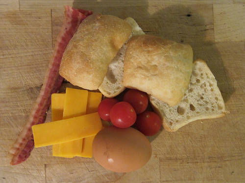 Mini Eggwiches: Ingredients
