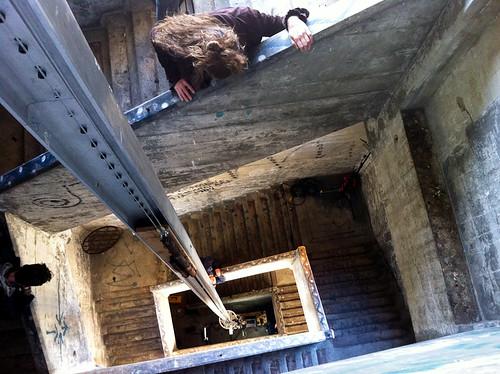 Secret Stairway under Burrard Bridge