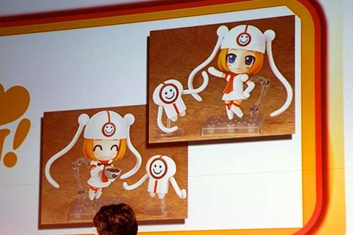 Presentation of Nendoroid Gumako
