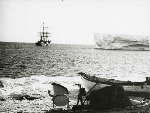 Terra Nova aside ice floe by The National Archives UK