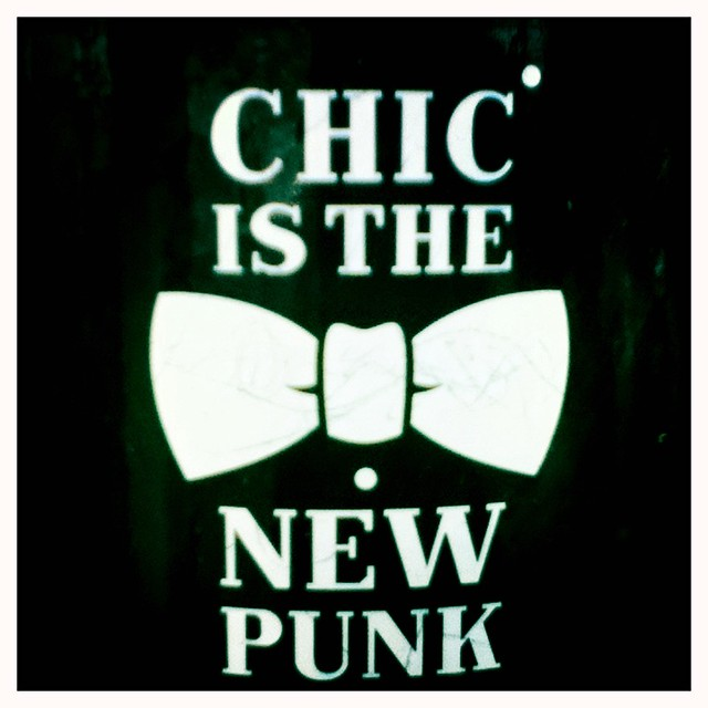 chic is the new punk