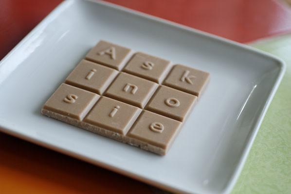 Askinosie White Chocolate Bar