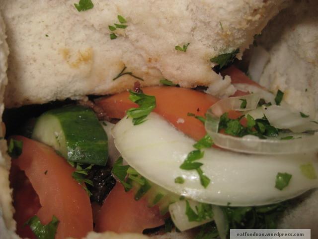 Shawarma veggies