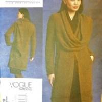 Last Minute Coat - Vogue 1129