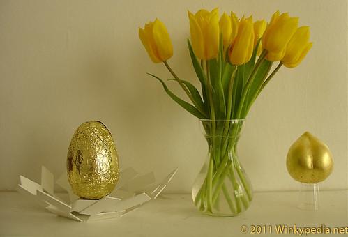 Easy egg Vs gilded peach