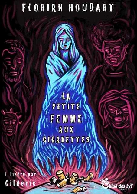 La Petite Femme aux cigarettes (couverture) - Illustration : Gilderic