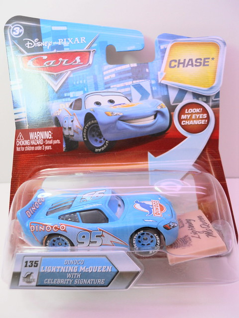 disney cars chase dinoco mcqueen with celebrity signature (1)