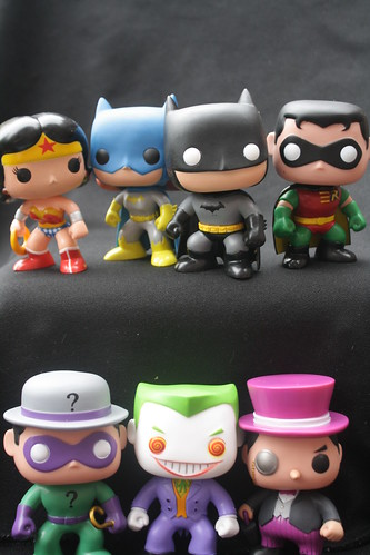 136/365- Pop! Superheroes