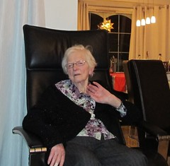 My grandmother, Christmas eve 2010