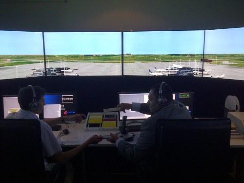 Simulador para formación de ATC