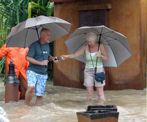 Thailand Flood Pictures - Koh Samui
