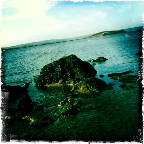 Cramond Beach Hipstamatic