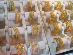 Ladies Gold Bangles - At the Jewellery Show in...