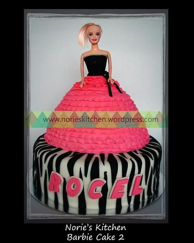 Norie's Kitchen - Barbie Cake 2