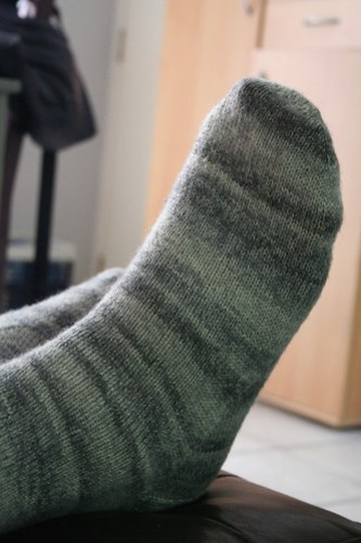 Skies of grey socks