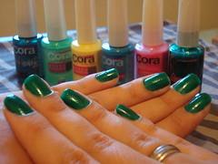 Verde - Glitter Fashion CORA