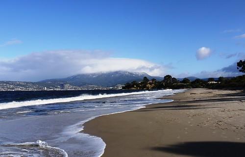 Mt Wellington from Howrah Beach