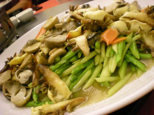 Mitsu fried asparagus