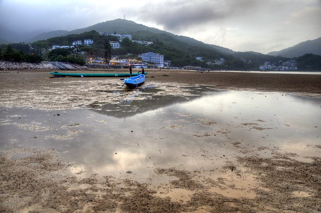Dragon boats, Sai Kung