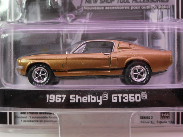 greenlight muscle car garage 1967 shelby GT350 (2)