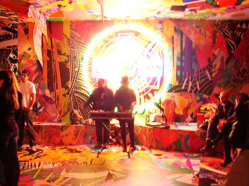 Lounge Melissa no SPFW Verão 2012